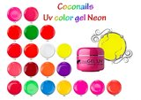 Uv Neon gel 5ml. Wit_