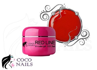 Uv color gel Rood line 5ml.