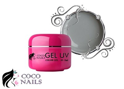 Coconails Uv color gel Light grey