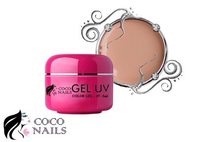 Coconails Uv color gel Dark sand