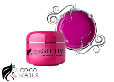 Coconails Uv color gel Dark pink
