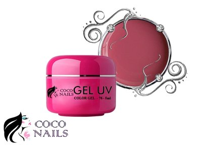 Coconails Uv color gel Dirty roses