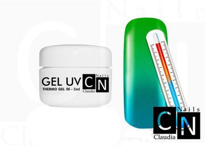 Thermo uv gel 5ml.  groen/ turquoise 06
